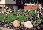 Vác, családi ház 1100 nm-es telken frissen kivitelezett kert