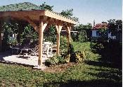 Sződliget, családi ház kb. 200 nm-es 2 éves hátsó kertje